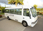 Cairns City CBD to Cairns Airport (one-way) - Seat in Coach (per person)