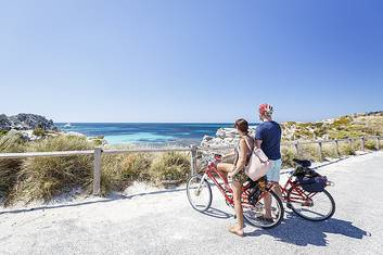Ride your way around Rottnest Island