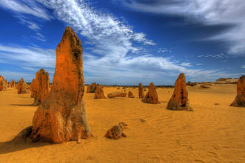 The Spectacular Pinnacles